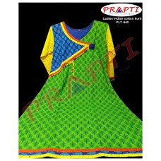 Ladies Indian cotton kamij kurti dress