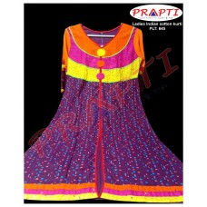 Ladies Indian cotton kamij kurti